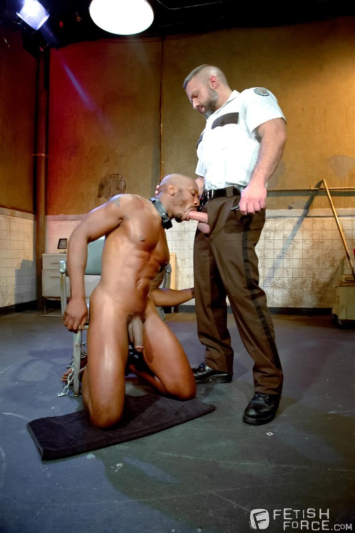 Fetish-Force-Race-Cooper-and-Dirk-Caber-Black-Guy-Forced-To-Suck-White-Cock-Amateur-Gay-Porn-11 Black Inmate Race Cooper Forced To Suck A Guards Thick White Cock