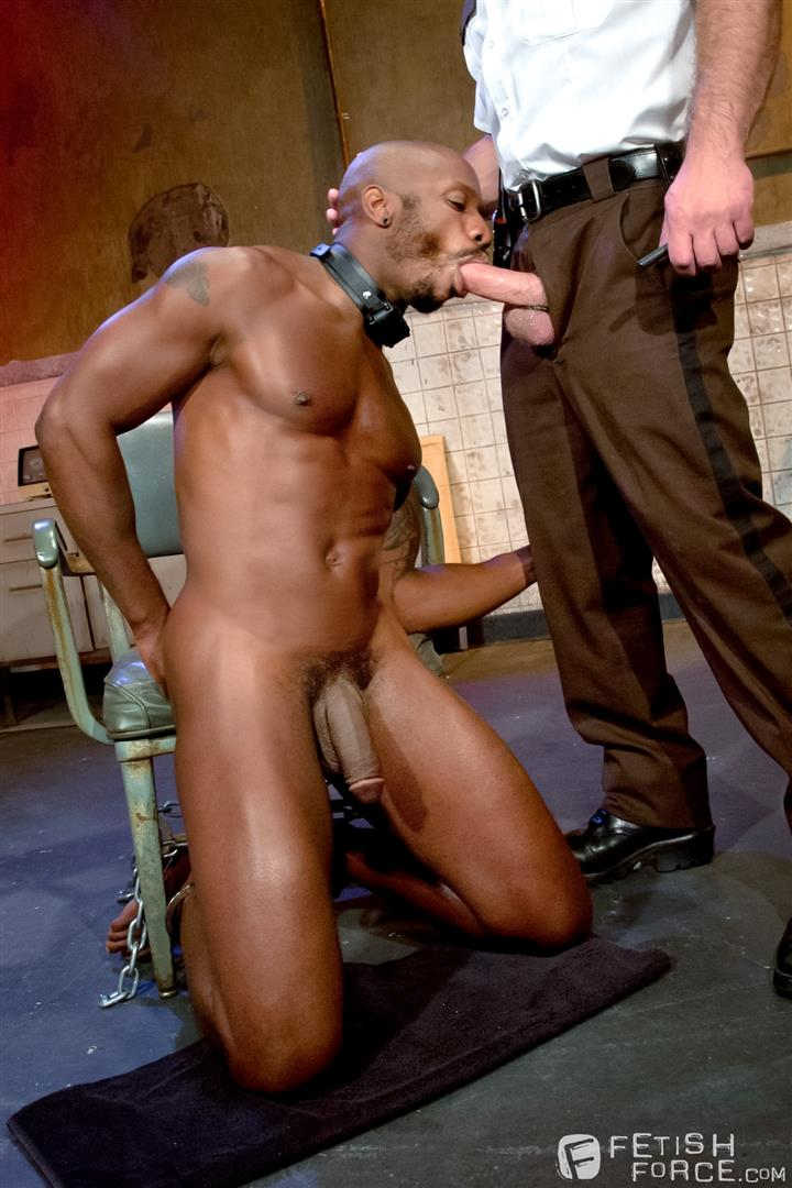 Fetish-Force-Race-Cooper-and-Dirk-Caber-Black-Guy-Forced-To-Suck-White-Cock-Amateur-Gay-Porn-12 Black Inmate Race Cooper Forced To Suck A Guards Thick White Cock