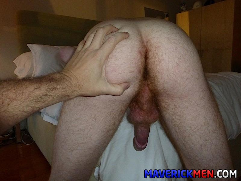 Maverick-Men-Hunter-Josh-Big-Cock-Daddys-Fucking-Ginger-Redhead-Amateur-Gay-Porn-12 Young Virgin Ginger Twink Gets Two Thick Daddy Cocks Bareback