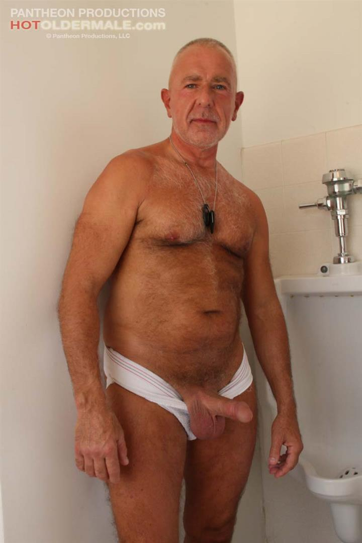cock hard Gay silverdaddy