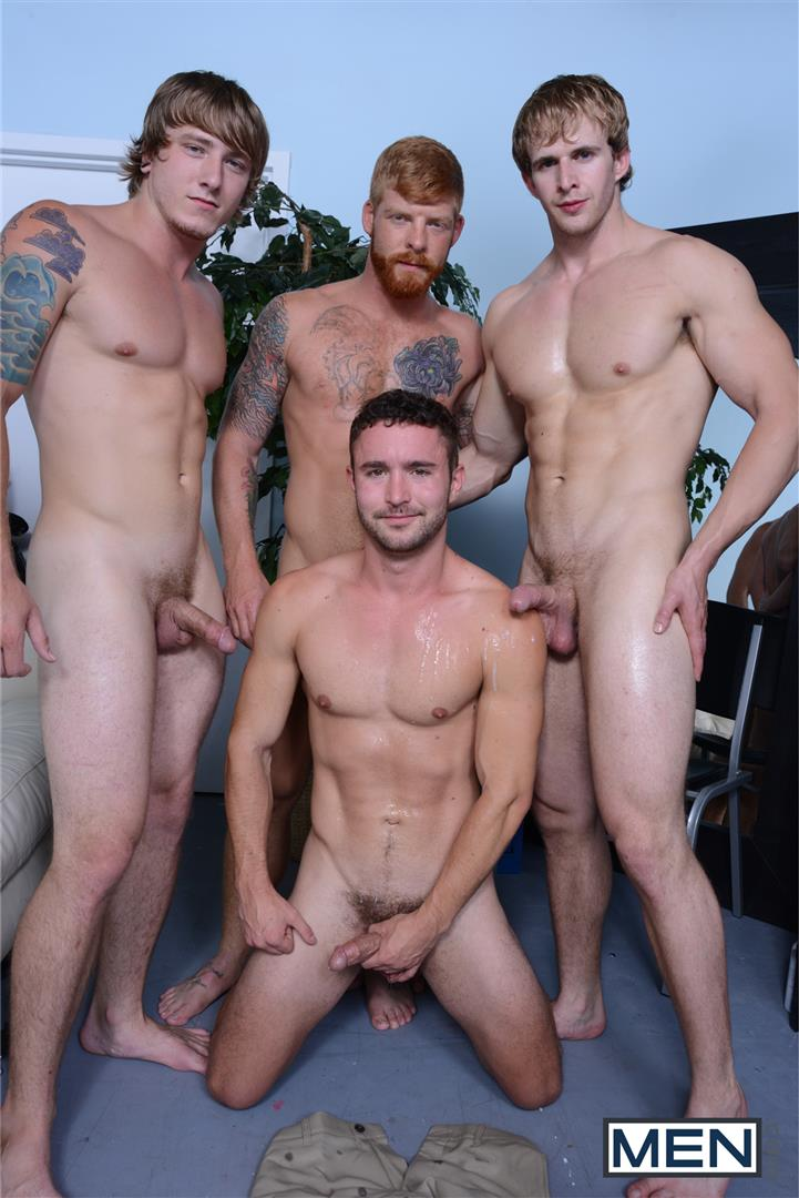 Men-Jizz-Orgy-Swingers-Bennett-Anthony-and-Cameron-Foster-and-Colt-Rivers-and-Tom-Faulk-Fucking-Bathroom-Amateur-Gay-Porn-38 Hung Golfing Buddies Fucking In The Bathroom and Clubhouse