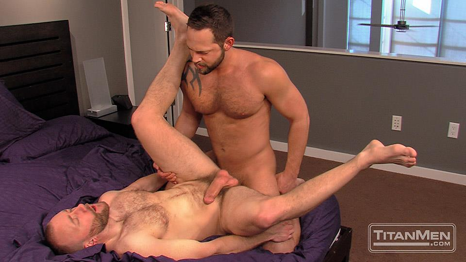 Titan-Men-Nick-Prescott-and-Tyler-Edwards-Hairy-Muscle-Hunks-Fucking-With-Big-Cocks-Amateur-Gay-Porn-16 Hairy Muscle Boyfriends Nick Prescott and Tyler Edwards Fucking
