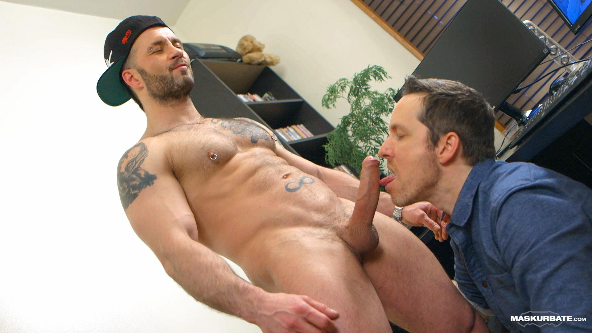 Maskurbate-Manuel-Deboxer-Gets-His-Big-Uncut-Cock-Sucked-Amateur-Gay-Porn-16 Manuel Deboxer Gets His Big Uncut Cock Sucked Off