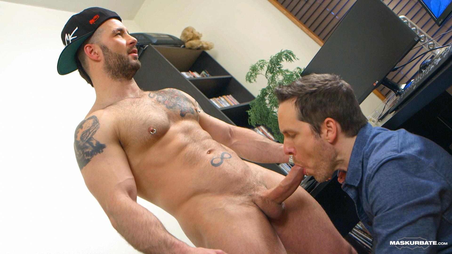 Maskurbate-Manuel-Deboxer-Gets-His-Big-Uncut-Cock-Sucked-Amateur-Gay-Porn-17 Manuel Deboxer Gets His Big Uncut Cock Sucked Off