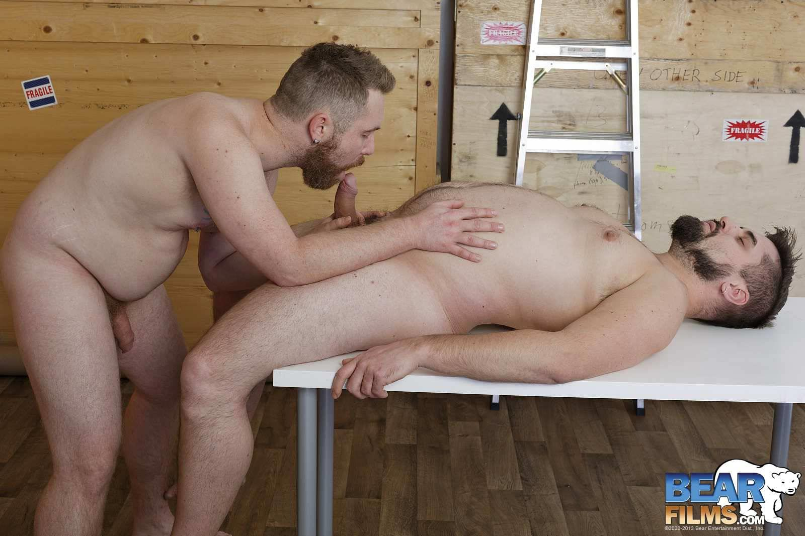 Bear Bubba Gets Cock Sucked