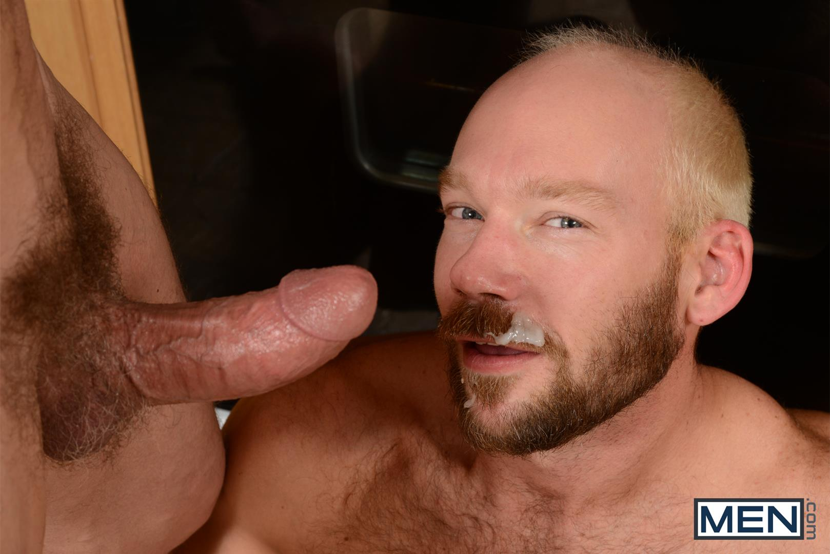 Men-Drill-My-Hole-Max-Sargent-and-Mike-Tanner-Thick-Cock-Daddys-Fucking-Amateur-Gay-Porn-13 Hairy Muscle Daddy's Fucking In The Kitchen And Eating Cum