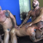 Raw-Fuck-Club-Alessio-Romero-and-Jon-Galt-and-Vic-Rocco-Hairy-Muscle-Daddy-Bareback-Amateur-Gay-Porn-3-150x150 Hairy Muscle Daddy Threeway Double Bareback Penetration