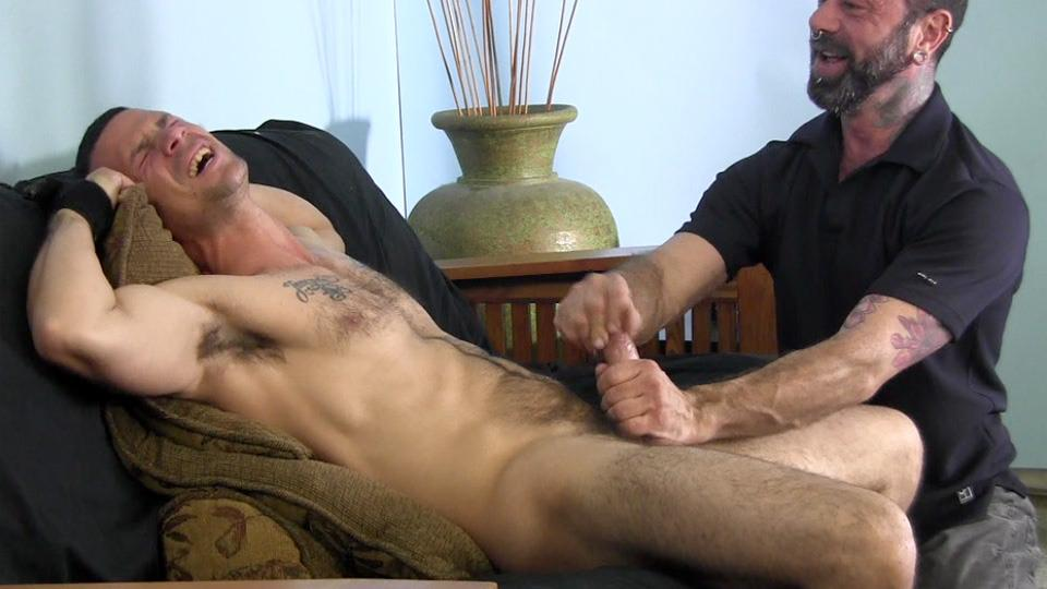 Straight guy swallows cum gay first time 9