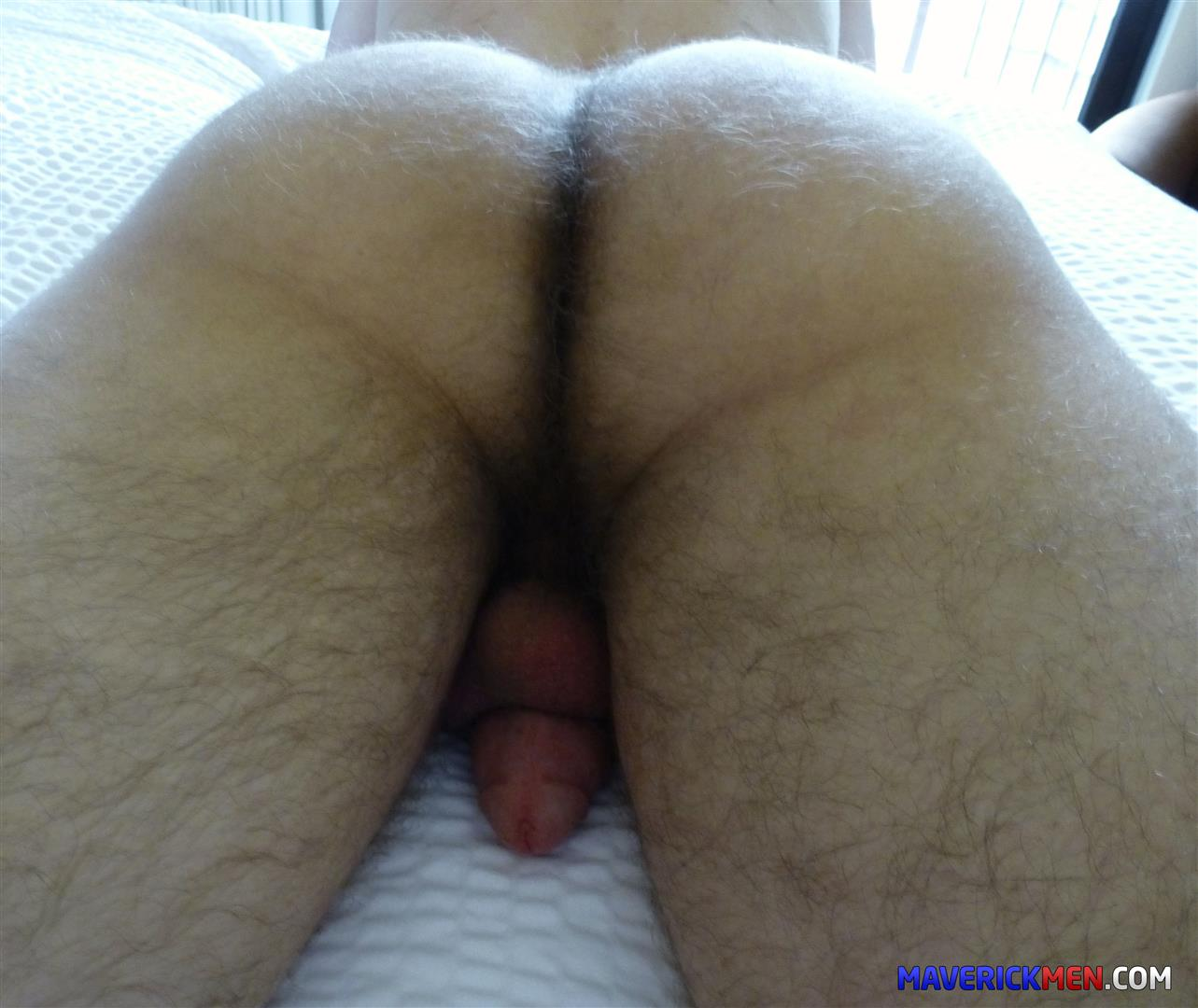 Big hairy ass men