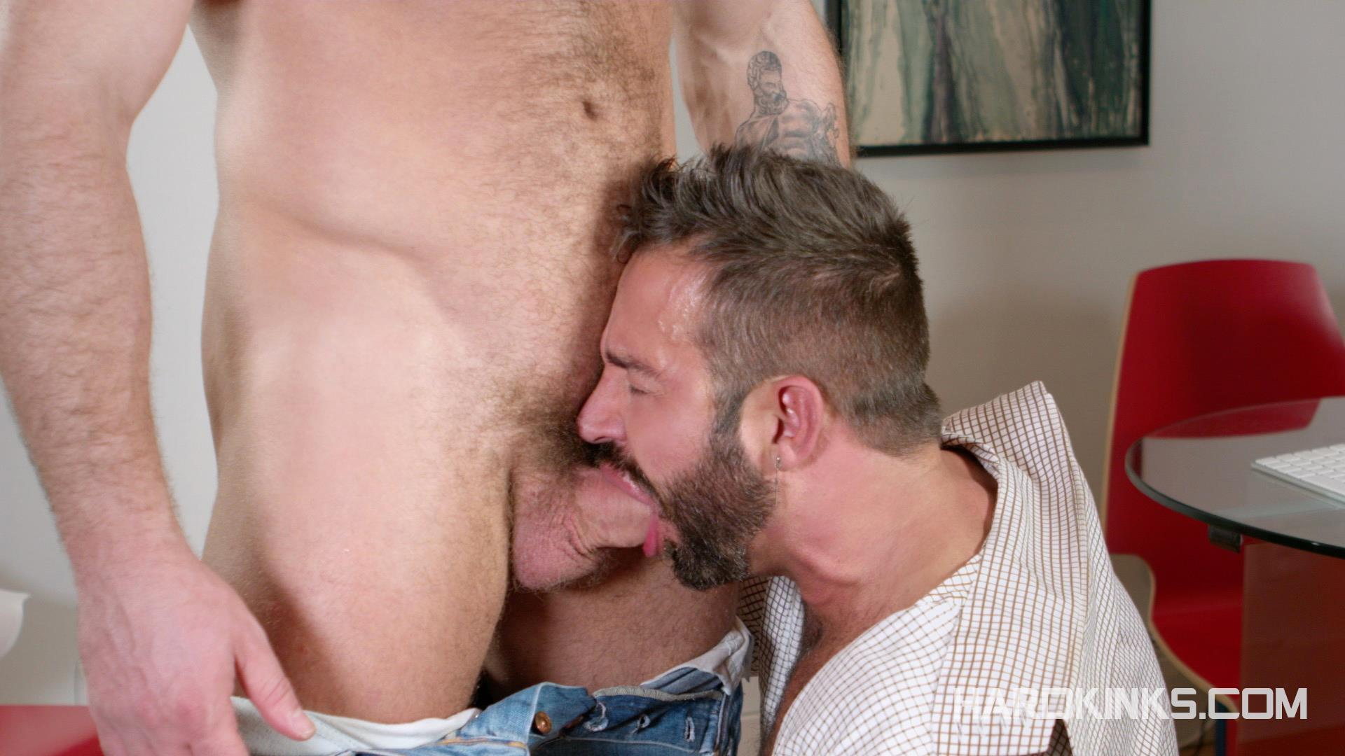 Hardkinks-Jessy-Ares-and-Martin-Mazza-Hairy-Alpha-Male-Amateur-Gay-Porn-09 Hairy Muscle Alpha Male Dominates His Coworker