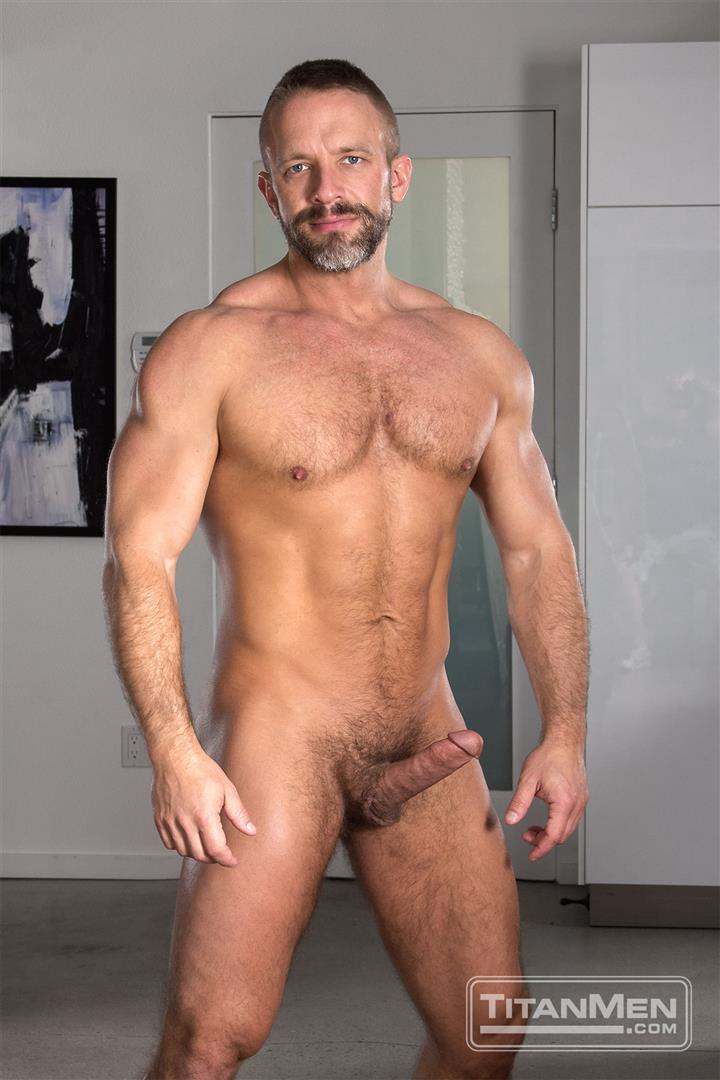 Titanmen-Titan-Hunter-Marx-and-Dirk-Caber-Hairy-Muscle-Daddy-Fuck-Amateur-Gay-Porn-09 Dirk Carber Gets Fucked Hard By Another Muscle Daddy With A Thick Cock