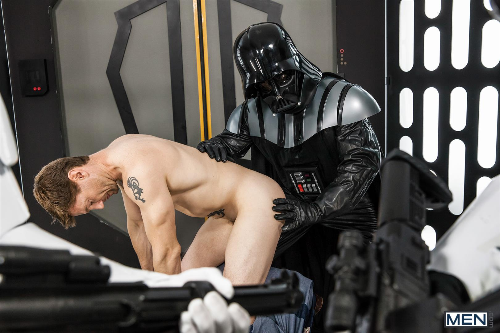 Men-Dennis-West-Gay-Star-Wars-Parody-XXX-Amateur-Gay-Porn-35 Who Knew that Darth Vader Likes To Fuck Man Ass?