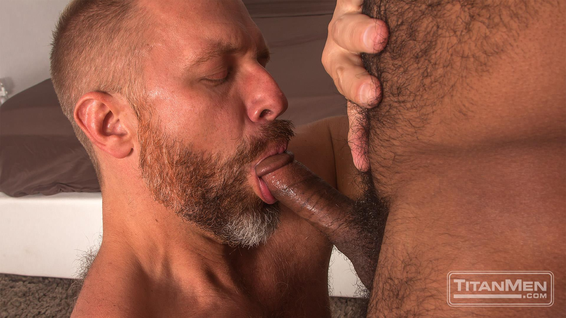 Titan-Men-Dirk-Caber-and-Daymin-Voss-Hairy-Muscle-Daddy-and-Big-Black-Dick-Fucking-09 Hairy Muscle Daddy Dirk Caber Flip Fucking With Hairy Black Muscle Hunk Daymin Voss