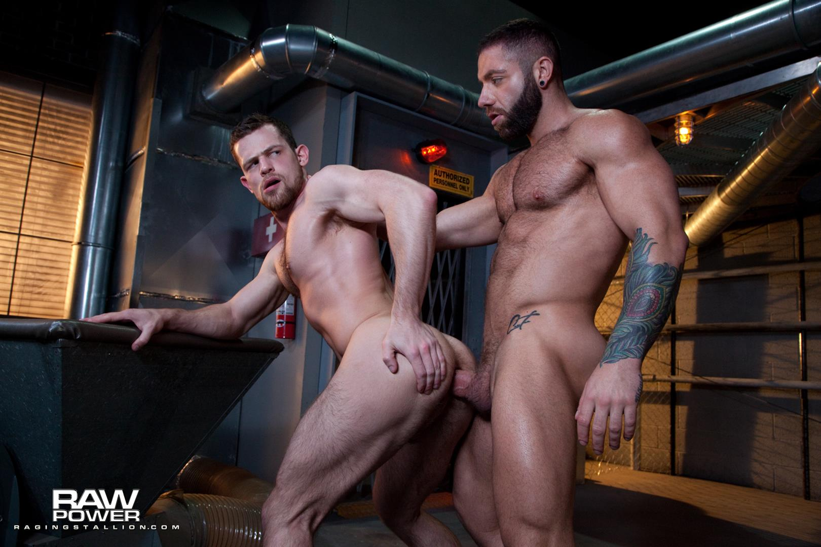 Raging-Stallion-Eddy-Ceetee-and-Kurtis-Wolfe-Big-Dick-Muscle-Hunks-Bareback-Sex-Video-11 ALERT: Raging Stallion Goes Bareback For The First Time With Eddy Ceetee and Kurtis Wolfe