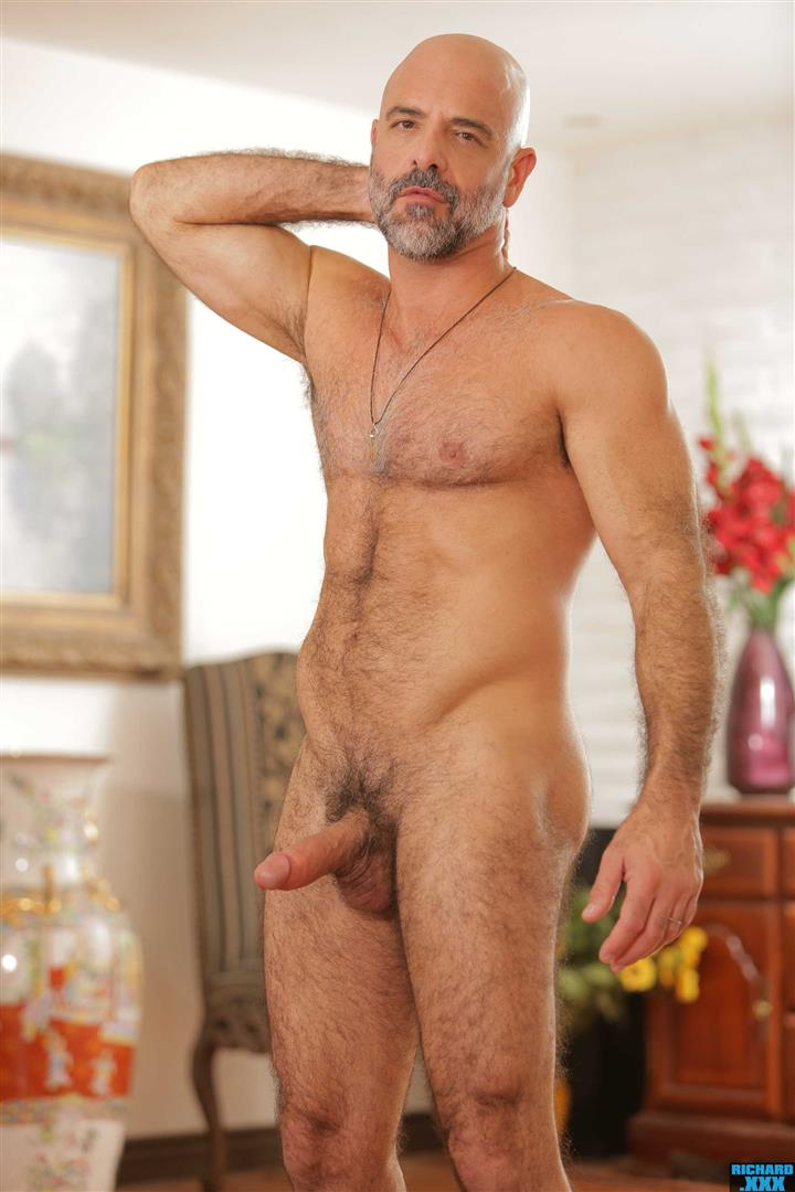 Richard-XXX-Adam-Russo-and-Casey-Everett-Muscle-Daddy-Thick-Dick-Bareback-Video-06 Hairy Muscle Daddy Adam Russo Bareback Fucking Casey Everett