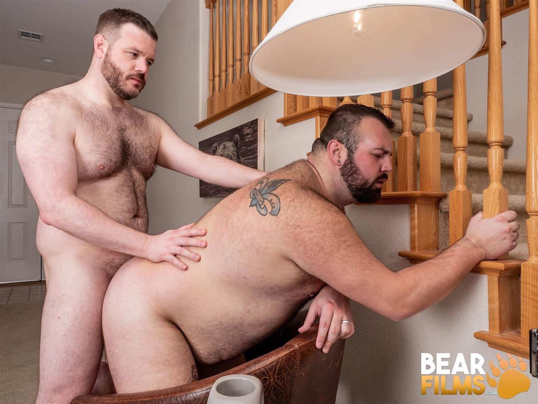Bear-Films-Rex-Blue-and-John-Thomas-Chubby-Hairy-Bear-Getting-Fucked-Bareback-Video-14 Bear Films: John Thomas Barebacks Hairy Chubby Bear Rex Blue