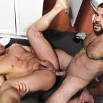 Men-Over-30-Ricky-Larkin-and-Jaxx-Thanatos-Sucking-and-Fucking-At-A-Glory-Hole-14-150x150 Hairy Muscle Hunk Jaxx Thanatos Sucks Cock And Gets His Ass Fucked Through A Glory Hole